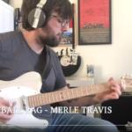 Cannonball Rag (Merle Travis) - Nico G